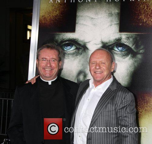 Gary Thomas and Anthony Hopkins Los Angeles Premiere...