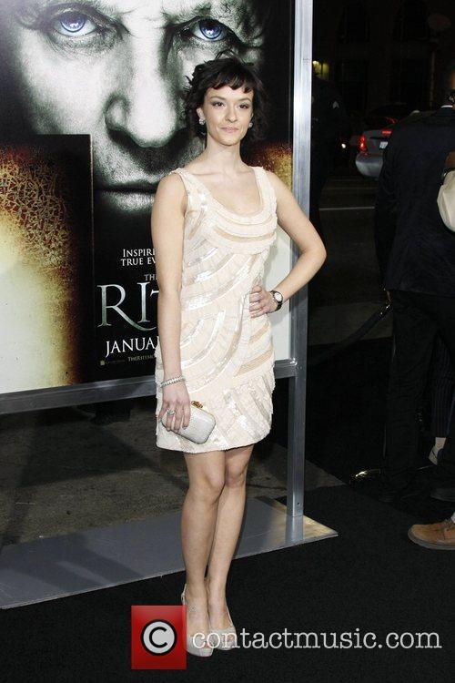 Actress Marta Gastini  Los Angeles Premiere of...