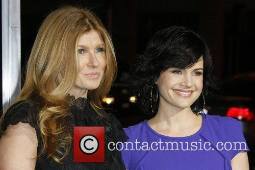 Actresses Carla Gugino and Connie Britton  Los...