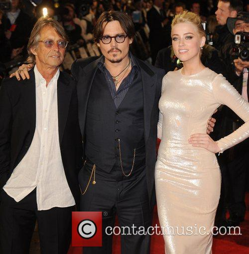 Bruce Robinson, Amber Heard and Johnny Depp 1