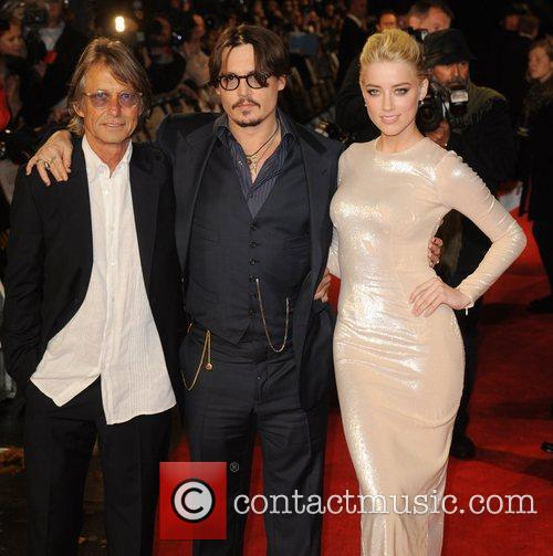 Bruce Robinson, Amber Heard and Johnny Depp 3