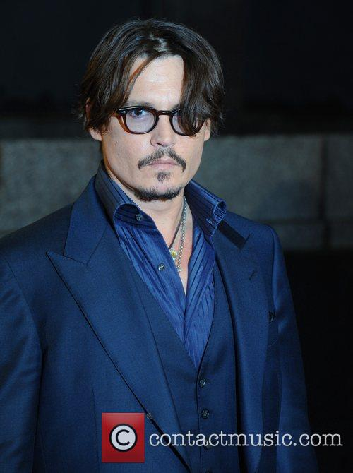 johnny depp at the premiere of rum 3590869