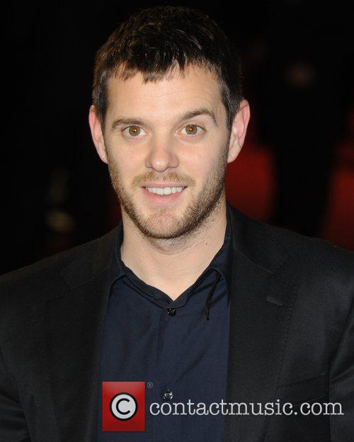 Mike Skinner at the premiere of Rum Diary...