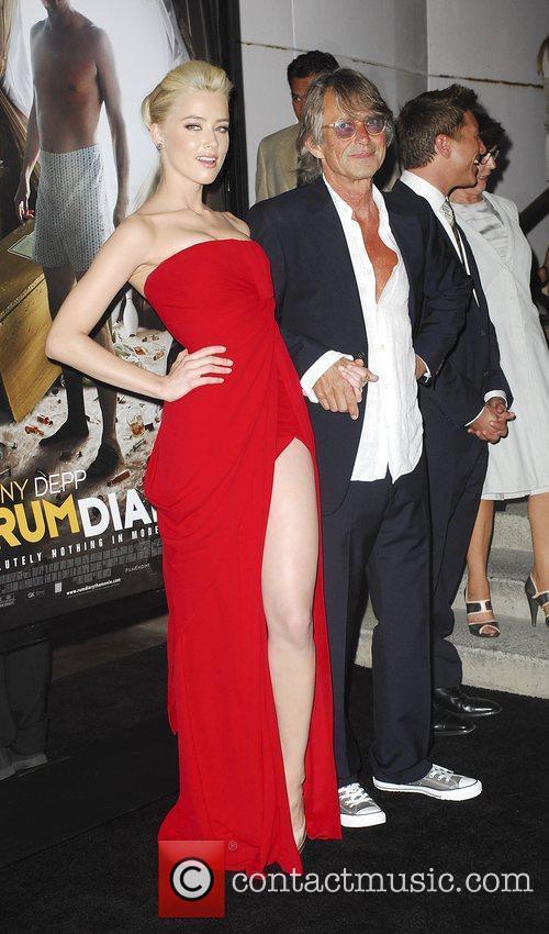 Amber Heard and Bruce Robinson
