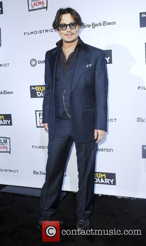 johnny depp at the rum diary premiere 3557177