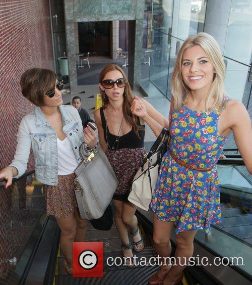 Frankie Sandford, Mollie King, The Saturdays and Una Healy 2