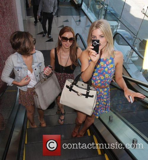 Frankie Sandford, Mollie King, The Saturdays and Una Healy 3