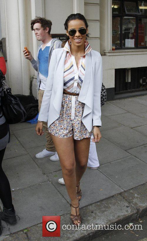 Rochelle Wiseman 'The Saturdays' leaving BBC Radio 1's...