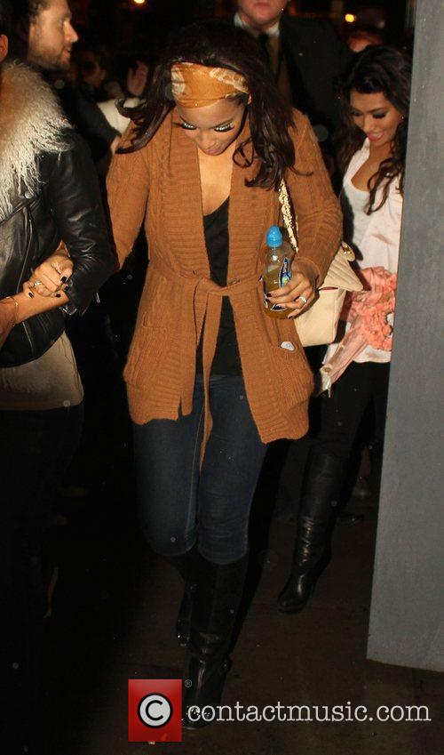 The Saturdays spend a night out in Liverpool