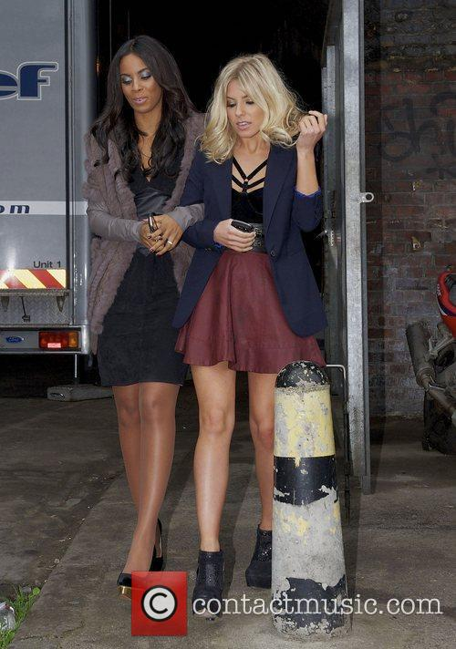 Rochelle Wiseman, Mollie King and The Saturdays 6