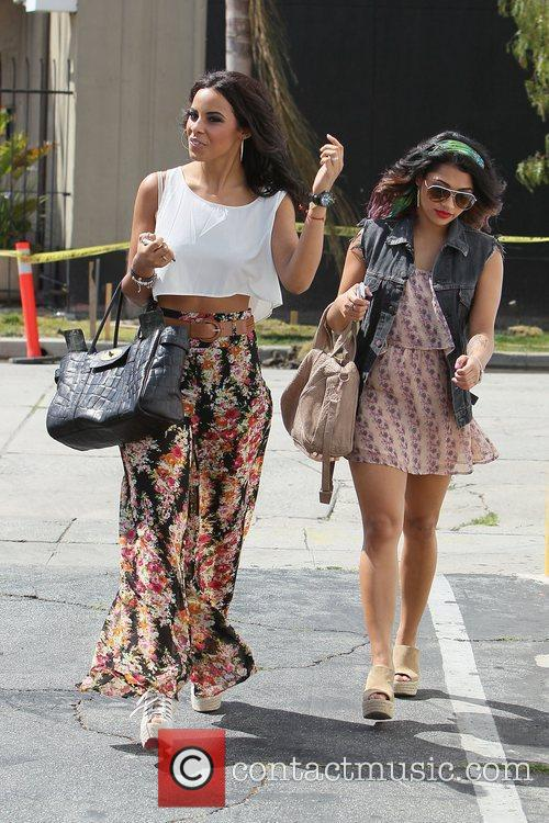 Rochelle Wiseman and Vanessa White (right),  of...
