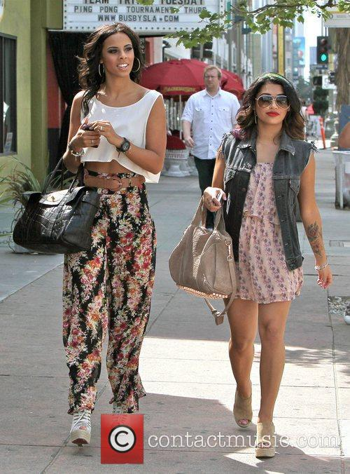Rochelle Wiseman and Vanessa White,  of 'The...