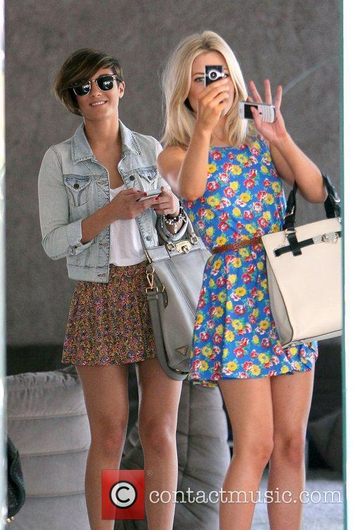 Frankie Sandford and Mollie King 9