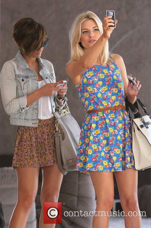 Frankie Sandford and Mollie King 4