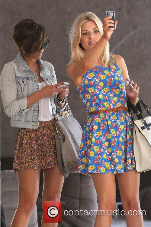 Frankie Sandford and Mollie King 3