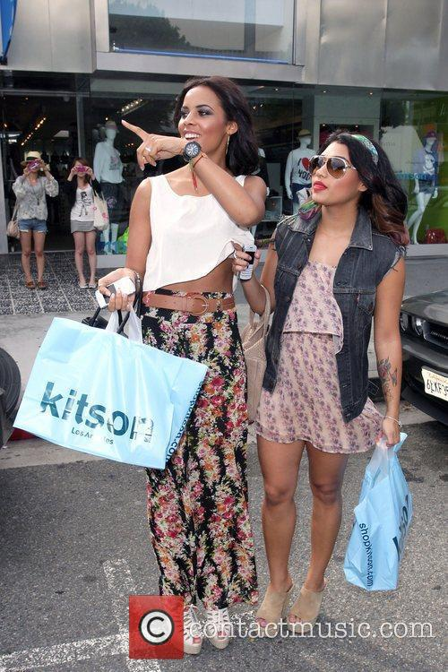 Vanessa White and Rochelle Wiseman leave Kitson on...