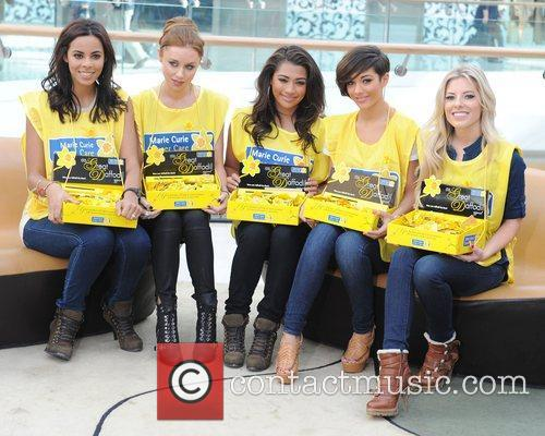 Rochelle Wiseman, Frankie Sandford, Mollie King, Una Healy and Vanessa White 6