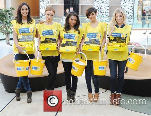 Rochelle Wiseman, Frankie Sandford, Mollie King, Una Healy and Vanessa White 4