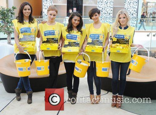 Rochelle Wiseman, Frankie Sandford, Mollie King, Una Healy and Vanessa White 3
