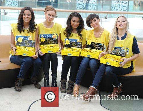 Rochelle Wiseman, Frankie Sandford, Mollie King, Una Healy and Vanessa White 1