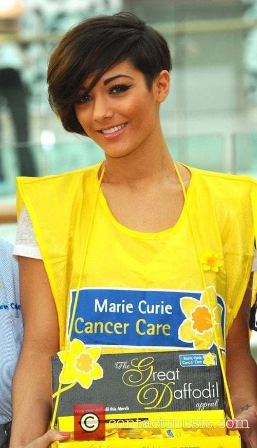Frankie Sandford The Saturdays attend a photo call...
