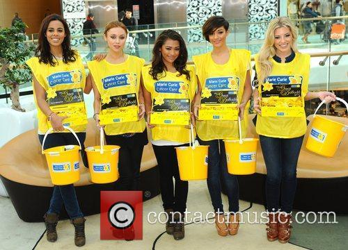 Rochelle Wiseman, Frankie Sandford, Mollie King, Una Healy and Vanessa White 11