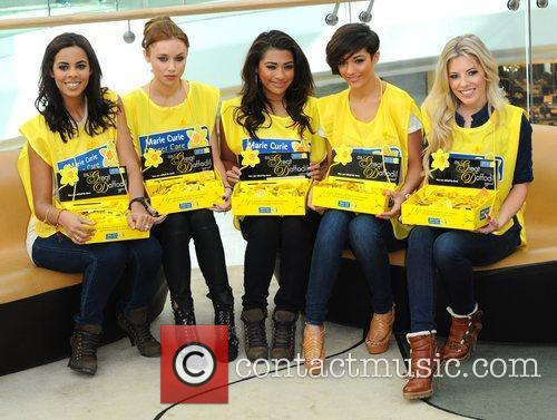 Rochelle Wiseman, Frankie Sandford, Mollie King, Una Healy and Vanessa White 9