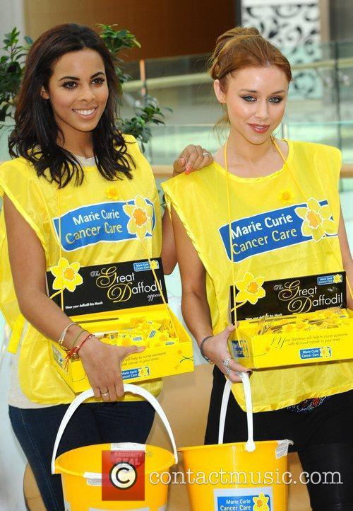 Rochelle Wiseman and Una Healy The Saturdays attend...