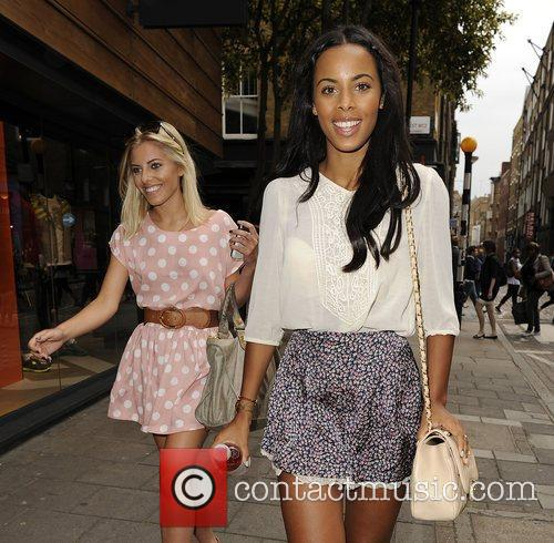Mollie King, Rochelle Wiseman and The Saturdays 10