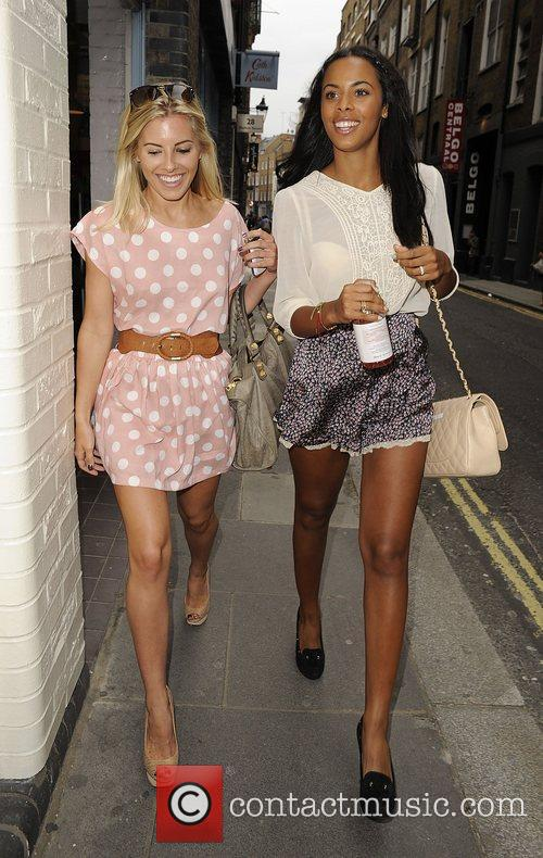 Mollie King, Rochelle Wiseman and The Saturdays 8