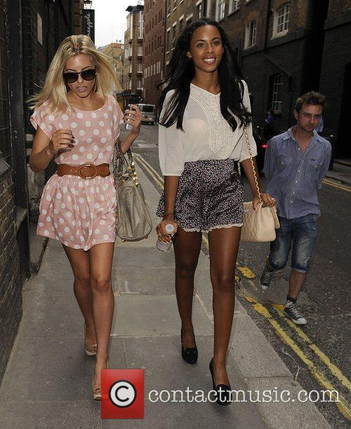 Mollie King, Rochelle Wiseman and The Saturdays 6
