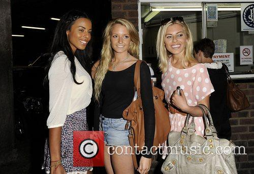 Mollie King, Rochelle Wiseman and The Saturdays 1