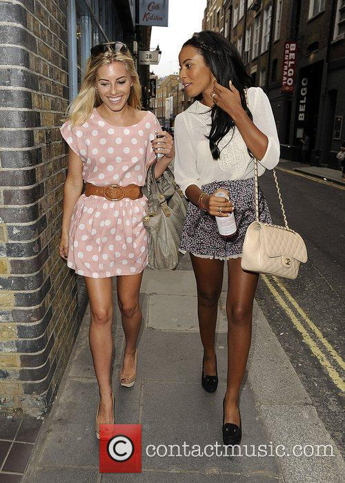 Mollie King, Rochelle Wiseman and The Saturdays 11