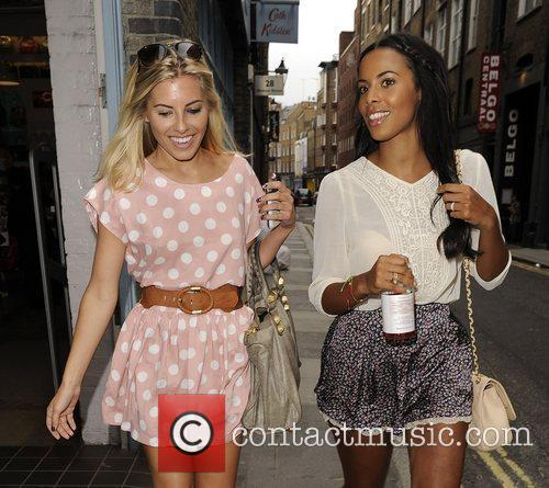 Mollie King, Rochelle Wiseman and The Saturdays 4