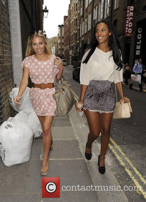 Mollie King, Rochelle Wiseman and The Saturdays 7