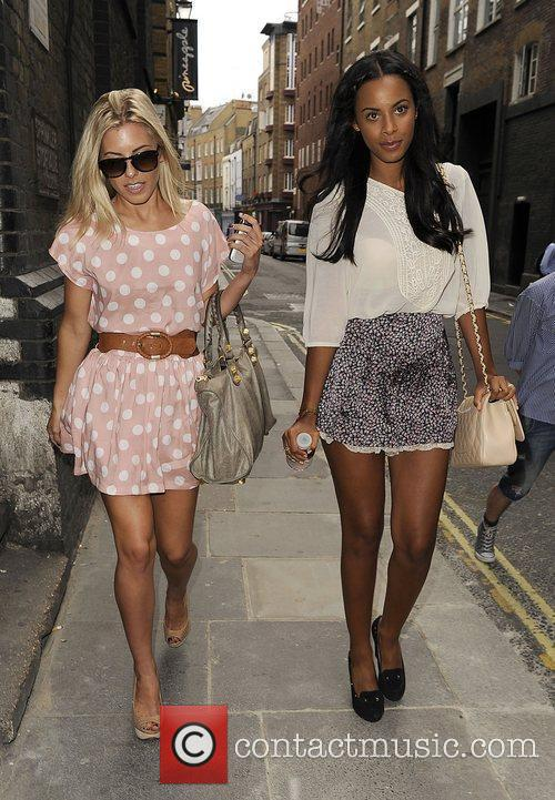 Mollie King, Rochelle Wiseman and The Saturdays 5