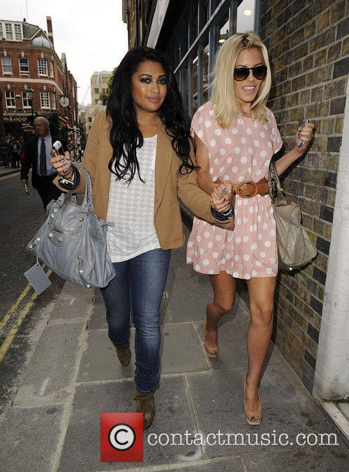 Mollie King, The Saturdays and Vanessa White 3