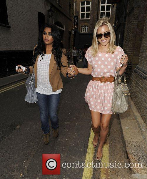 Mollie King, The Saturdays and Vanessa White 8
