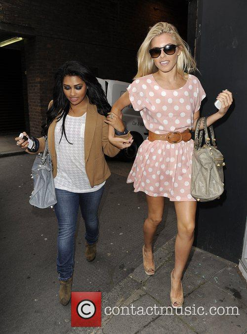 Mollie King, The Saturdays and Vanessa White 6