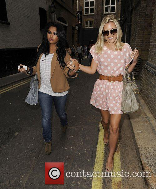 Mollie King, The Saturdays and Vanessa White 7