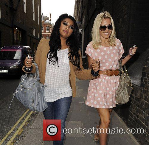 Mollie King, The Saturdays and Vanessa White 9