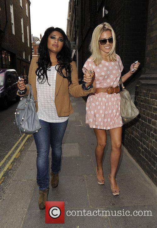 Mollie King, The Saturdays and Vanessa White 11