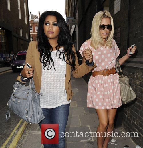 Mollie King, The Saturdays and Vanessa White 4