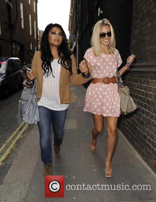 Mollie King, The Saturdays and Vanessa White 13