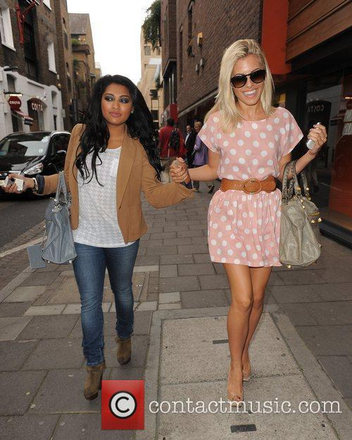 Vanessa White, Mollie King and The Saturdays 5