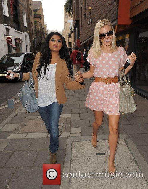 Vanessa White, Mollie King, The Saturdays