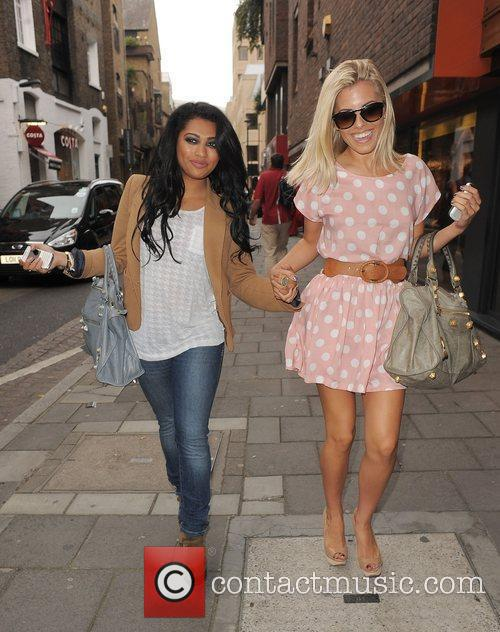 Vanessa White, Mollie King and The Saturdays 7
