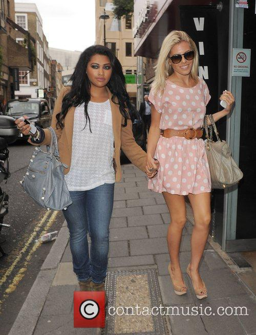Vanessa White, Mollie King and The Saturdays 9