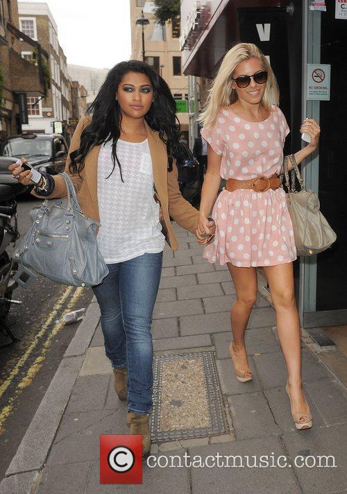 Vanessa White, Mollie King and The Saturdays 6