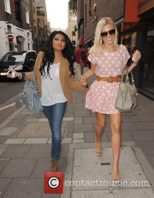 Vanessa White, Mollie King and The Saturdays 8